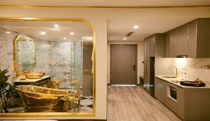 Phòng Penthouse Hoàng Gia