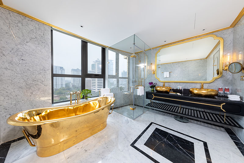 Phòng Deluxe Corner Suite